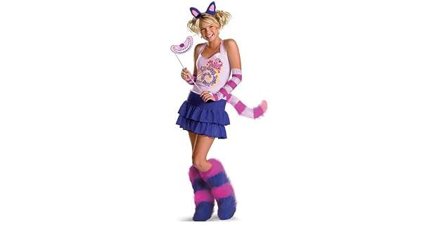 Disfraz de gato de Cheshire – niño/adolescente Disfraz: Amazon.es ...