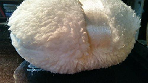 Jumbo Polar Bear Fluffy Fleece Powder Puff for Dusting Powder Large 6 Inch - Polar Puff