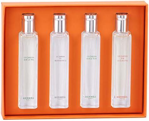 La Jardins Gift Pc Set Parfums Des Miniature Collection Hermes 4 RLA4j5