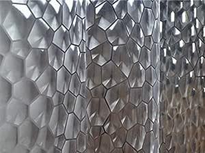 180 X 180 CM PEVA Bathroom Shower Curtains 3D Waterproof Bath Curtain Solid Pattern