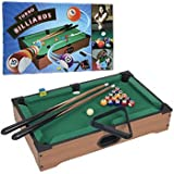WMU GamesT Mini Table Top Pool Table with Accessories
