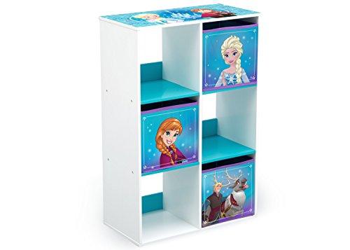 Delta Children 6 Cubby Storage Unit, Disney Frozen