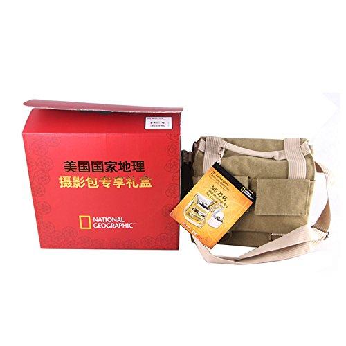 National Geographic NG 2346 Earth Explorer Midi Messenger Bag (Geographic Earth Bag National Explorer)
