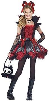 Disfraz de vampiresa Cool niña Infantil (3-4 años) Halloween (+ ...