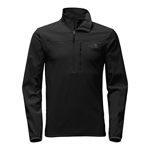 Jacket Zip Pullover Half (The North Face Men's Apex Nimble Half-Zip Pullover - TNF Black - L)