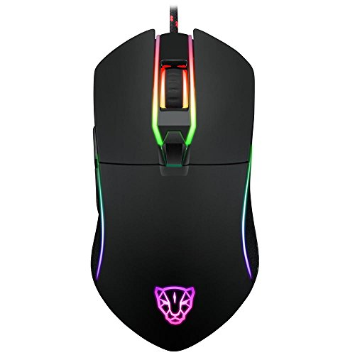 NPET V30 RGB Backlit Gaming Mouse,High-Precision...