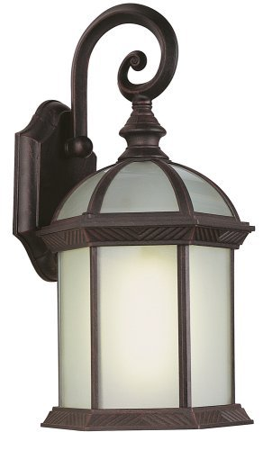 Trans Globe Lighting PL-4181 RT Outdoor Wentworth II 7.5