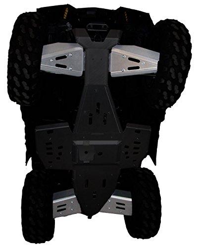 A-arm Aluminum Guards (4-Piece Aluminum A-Arm & CV Boot Guard Set, Polaris Sportsman 850 & Sportsman 550)