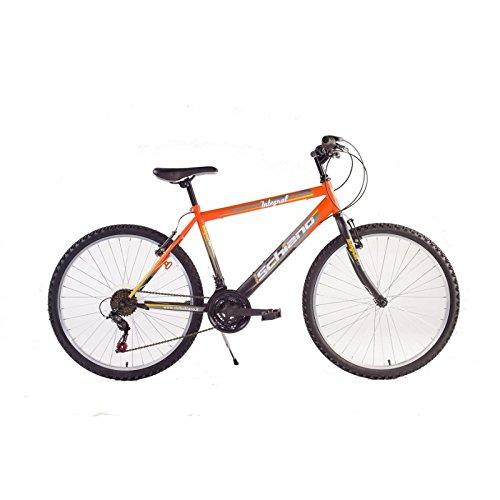 Nero 26 F.LLI SCHIANO Bici Mountain Bike Integral Uomo Power Arancio