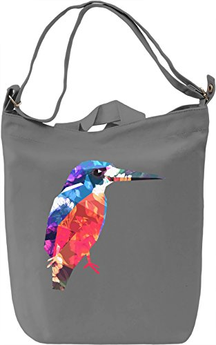 Colourful Bird Borsa Giornaliera Canvas Canvas Day Bag  100% Premium Cotton Canvas  DTG Printing 
