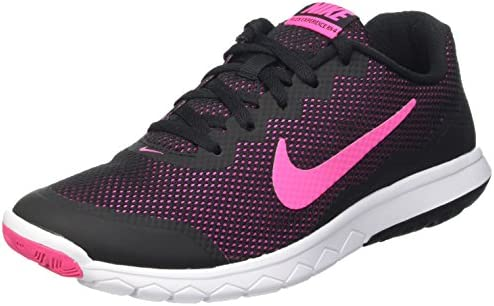 Nike Men s Flex Experience RN 4 Black Pink Foil White Running Shoe, 9 B M US