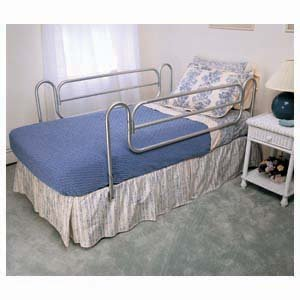 BED RAILS HOME STYLE P558-CO 26-72'' by APEX-CAREX HEALTHCARE ***