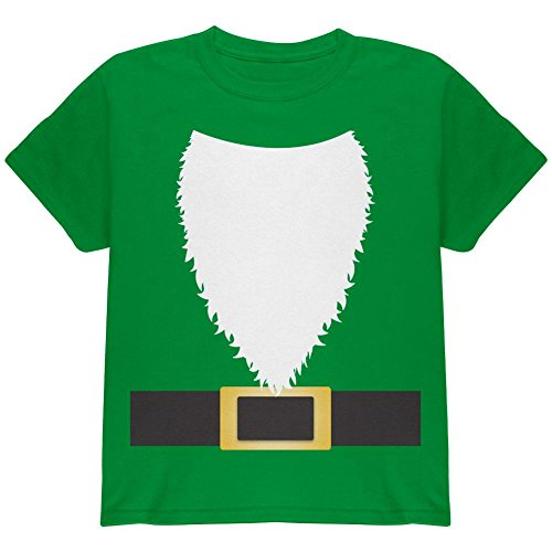 Halloween Lawn Gnome Costume Green Youth T Shirt Irish Green YLG (Lawn Gnome Halloween Costumes)