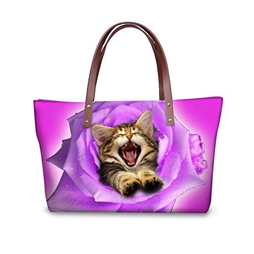 Casual C8wcc3495al Bags Stylish FancyPrint Shoulder Handbags Women EqAwIY
