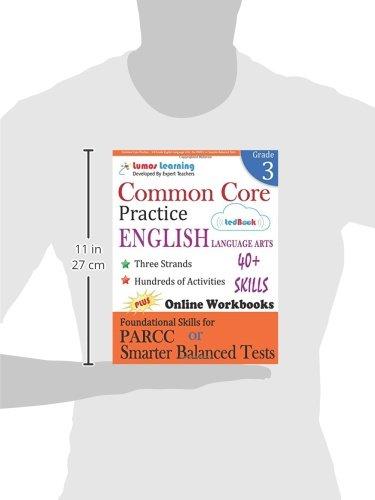 Amazon.com: Common Core Practice - 3rd Grade English Language Arts ...