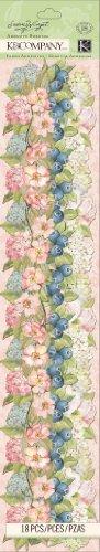 (K&Company Floral Adhesive Border by Susan Winget )