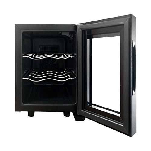 Magic Chef MCWC6B 6 Bottle Countertop Wine Cooler, Black by Magic Chef (Image #1)
