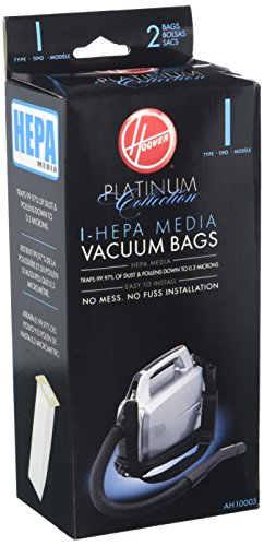 Hoover Not Type I HEPA Bag (2-Pack), AH10005