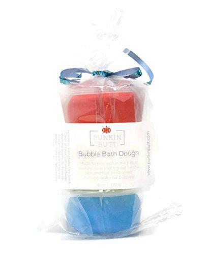 Punkin Butt Bubble Bath Dough - Colorful Moldable Sensory Play at Bath Time