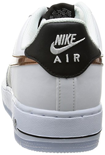 Nike Heren Air Force 1 07 Qs Basketbal Schoenen Wit / Koper / Zwart