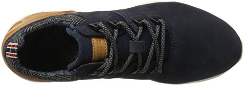 Blue Sneakers Dark Homme Dark Cognac Cognac 321342012510 Blue Bugatti Bleu Basses pT57zwqq