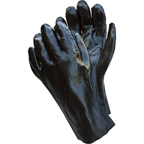 Supported PVC Gloves (Single Dipped, Rough Finish, 12