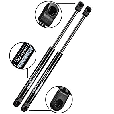 2 Front Hood Gas Lift Supports Struts Shocks Springs for 2004-2012 Nissan Titan or 2004 Nissan Pathfinder or 2005-2013 Nissan Armada: Automotive