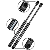 2 Front-Hood Struts Rods, Shocks Springs Gas Lift-Support for 2004-2012 Nissan-Titan or 2004 Nissan-Pathfinder or 2005-2013 Nissan-Armada