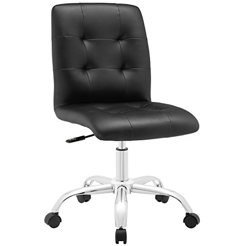 Modway Prim Mid Back Office Chair, Black