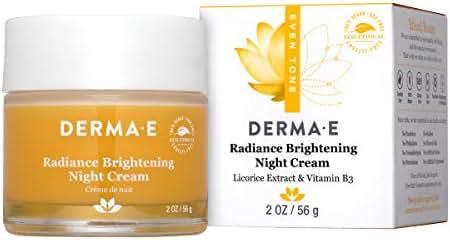 Facial Moisturizer: Derma E Radiance Brightening Night Cream