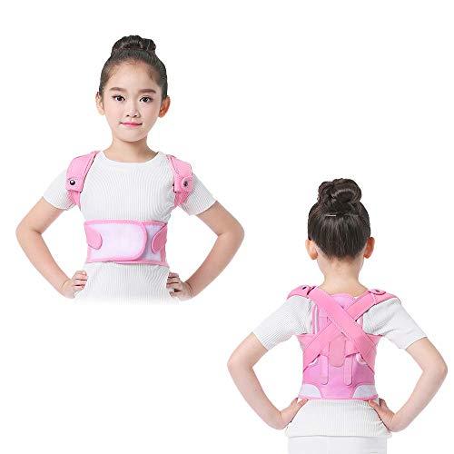 HOOPEN Posture Corrector for Kids, Adjustable Upper Back Straightener Support, Improve Thoracic Kyphosis, Back Posture Corrector for Boys & Girls, 3 Size