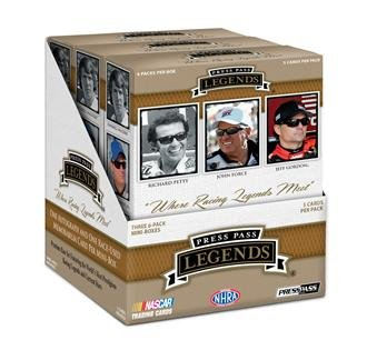 Press Pass Legends Racing (2013 Press Pass Legends Racing box (18 pk HOBBY))