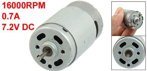 DealMux Metal Housing Round Shape Magnetic Micro Motor 16000RPM ...