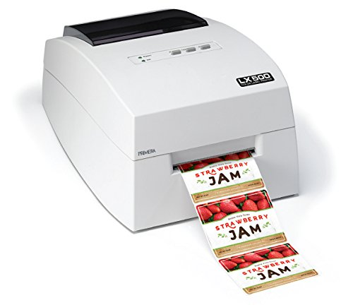 Primera LX500 Color Label Printer 74275 4800 DPI Printer with Built-In Cutter