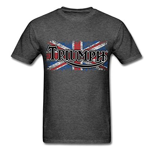Triumph Gift Idea Political Funny Words Printed Men T-Shirts Heather Black Small