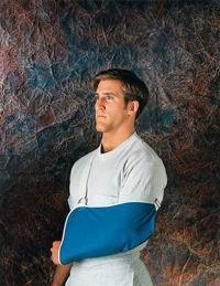 1260-DEN-UN Sling Arm Denim With Shoulder Pad Blue Part# 1260-DEN-UN by Scott Specialties Inc Qty of 1 Unit Denim Arm Sling