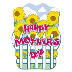 Happy Mothers Day Sign (Happy Mother's Day Sign Party Accessory (1 count))