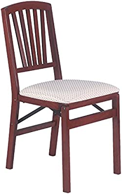 related image of Stakmore Slat Back Folding Chair Finish, Set