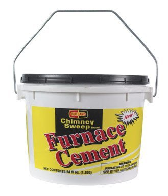Meeco'S Red Devil 1355 Gray Furnace Cement, For Indoor Use Only, Grey (Use Furnace)
