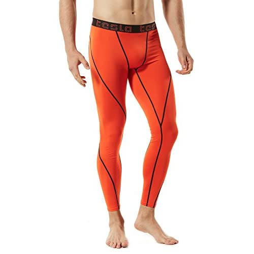 2874caaad9f3e Tesla Men's Compression Pants Baselayer Cool Dry Sports Tights Leggings  MUP19/MUP09/P16