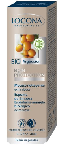 Logona Age Protection Cleansing Foam, 2.46 Fluid Ounce