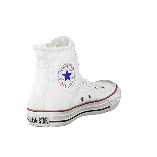 Converse All Star Denim Hi 123159 Homme Chaussures Blanc