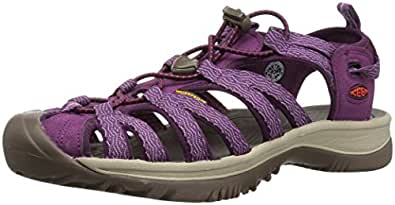 KEEN Australia Women's Whisper Trekking Sandal, Grape Kiss/Grape Wine, 7 US