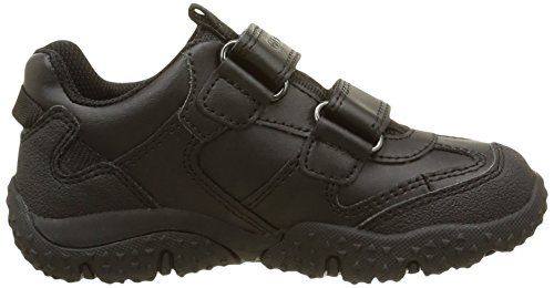 Geox Jr Baltic Boy B Abx - Zapatillas para niños Schwarz (BLACKC9999)