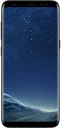 Samsung Galaxy S8 - Unlocked  - Midnight Black (Renewed)