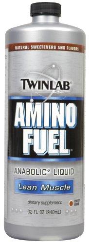 Twinlab Amino Fuel Liquid Cherry, 32-ounce (Twinlabs Amino Fuel Liquid)