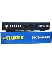 STARGOLD FULL HD DIGITAL SATELLITE RECEIVER AV & HDMI CABLE