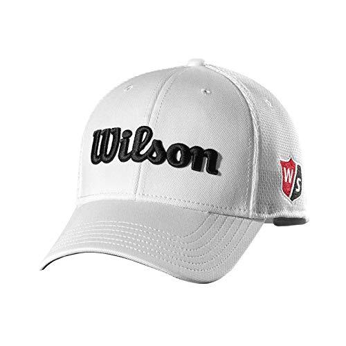 Golf Mesh Cap - Wilson Tour Mesh Golf Cap, White