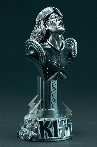 Special PEWTER Variant McFarlane KISS Ace Frehley Bust - Statuette Kiss