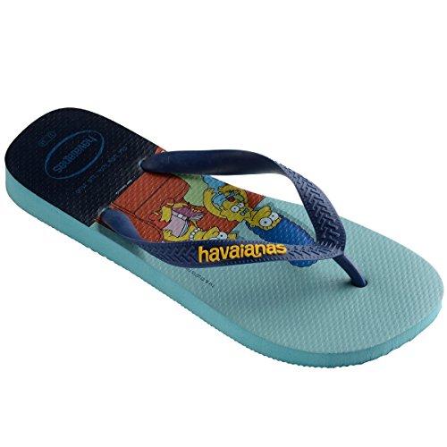 Blue Stampe 4137889 Simpsons Uomo Havaianas Infradito donna 0031 4OnwX